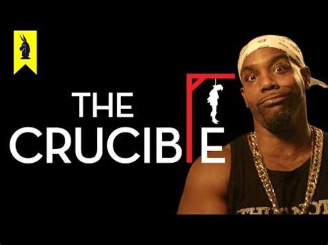 The crucible literary analysis thesis